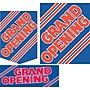 22 Pcs Budget Sign Kit GRAND OPENING, Red