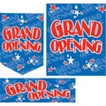 22 Pcs Jump Stars Budget Sign Kit in.GRAND OPENINGin., Red on Blue