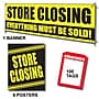 107 Pcs Sale Driver Sign Kit STORE CLOSING,