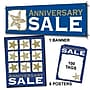 107 Pcs Sales Driver Sign Kit anniversary Sale,