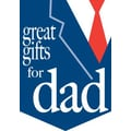 20in. x 14in. Pennants in.GREAT GIFTS FOR DADin., White/Red on Blue