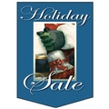20in. x 14in. Pennants in.HOLIDAY SALEin., White on Blue