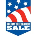 20in. x 14in. Pennants in.HOLIDAY CELEBRATION SALEin., White on Blue/White/Red
