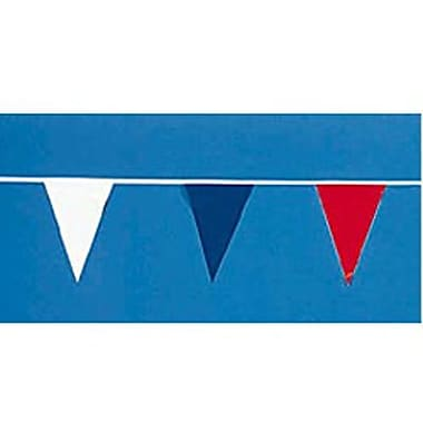 12in. x 18in. Outdoor Pennants, Red/White/Blue