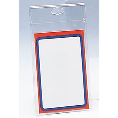 3in. x 5in. Vinyl Slotted Tag Envelope, Clear