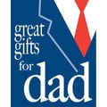 51in. x 40in. Super Posters in.GREAT GIFTS FOR DADin., White/Red on Blue