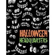 51 x 40 Super Posters HALLOWEEN HEADQUARTERS, Orange/Green on Black