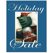 51 x 40 Super Posters HOLIDAY SALE, White on Blue