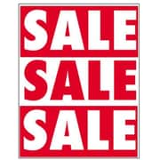 51 x 40 Super Posters SALE SALE SALE, White on Red