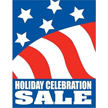 Foxfire SUP144-W1 51in. x 40in. Heavy Paper in.Holiday Celebration Salein. Super Poster