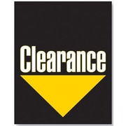 51 x 40 Super Posters CLEARANCE, Yellow/White on Black