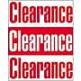 51 x 40 Super Posters CLEARANCE, Red on