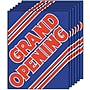 28 x 22 Standard Poster GRAND OPENING, Red