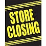 28 x 22 Standard Poster STORE CLOSING, Yellow