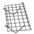 1 / 4 in.  Wire 15 in.  x 24 in.  Gridwall Slant Shelf, Chrome