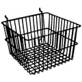 12 in.  x 12 in.  x 8 in.  Deep Basket, Black