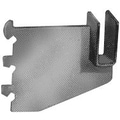 3 in.  Blade Brackets With Nylon Stabilizer For 1 / 2 in.  x 1 1 / 2 in.  Rectangular Tubing, Chrome