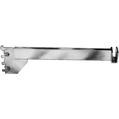8 in.  Hangrail Bracket With Tightening Screw For 1 / 2 in.  x 1 1 / 2 in.  Rectangular Tubing, Chrome