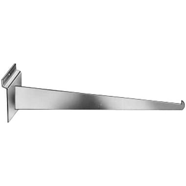 14 in.  Metal Knife Bracket, White