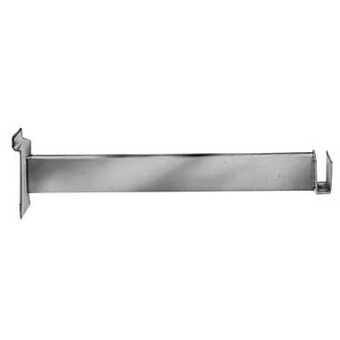 12 in.  Bracket For Rectangular Tubing, Chrome