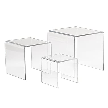 Acrylic Small Display Riser, Clear