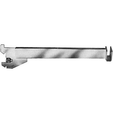 12 in.  Hangrail Bracket For 1 / 2 in.  x 1 1 / 2 in.  Rectangular Tubing, Chrome