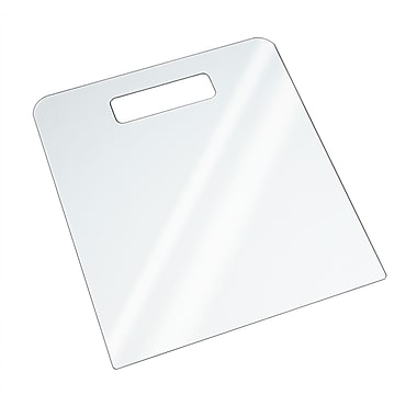 Econoco HP/SFB-L Acrylic Folding Board, Clear, Large