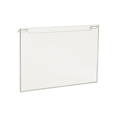 7 in.  x 11 in.  Acrylic Horizontal Sign Holder, Clear