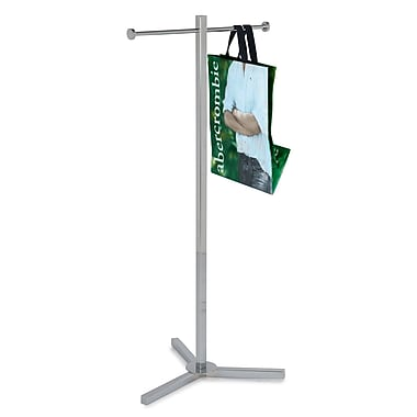 Econoco K39 Shopping Bag Rack with Two Arms, 45