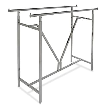 60 in.  x 22 in.  Heavy Duty Double Bar Rack With V-Brace