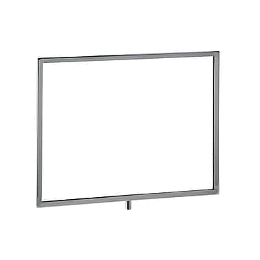 11 in.  x 14 in.  Mitered Corner Sign Holder, Chrome