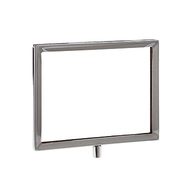 5 1 / 2 in.  x 7 in.  Mitered Corner Sign Holder, Chrome