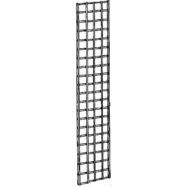 Econoco P3GW15 Gridwall Panel, Chrome, 5' x 1'