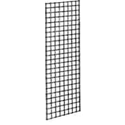 2' x 6' Wire Gridwall Panel, Chrome