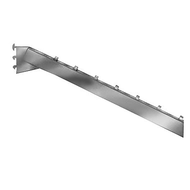 7 Ball Rectangular Tubing Waterfall Faceout, Chrome