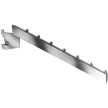 Econoco RR/7B 7-Cube Rectangular Tubing Waterfall Faceout, Metal, Chrome