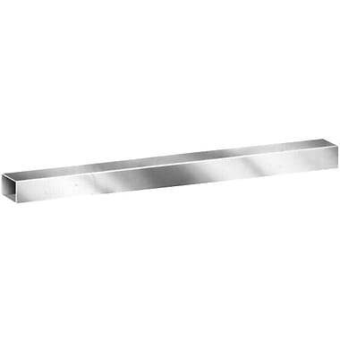 8' Square Tubing Faceout, Chrome