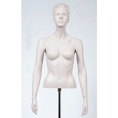 Econoco SYF-A109 Female Arms Mannequin, Arms by Side, White