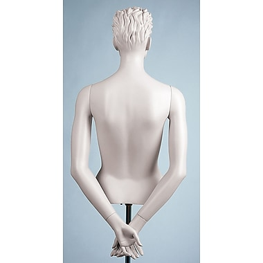 Female Arms Mannequin, Hands Behind Back, White