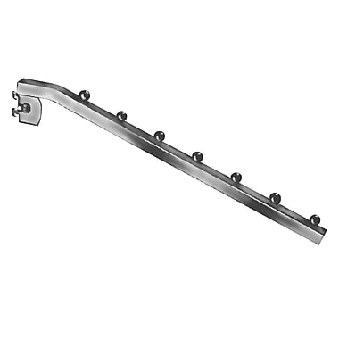 Econoco TR/7B Square Tubing Waterfall Faceout, Chrome, Metal