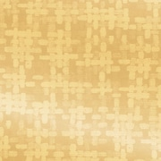 "Shamrock 24""W Spun Sheen Embossed Foil Gift Wrap, Warm Gold"