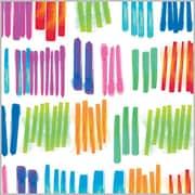 "Shamrock 24""W Watercolor Rainbow Gift Wrap, White/Purple/Orange/Blue/Assorted"