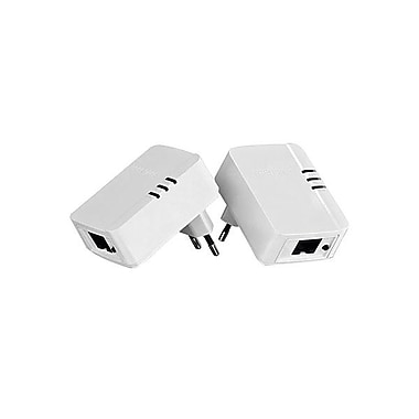 TRENDnet TPL-308E2K 200 AV Powerline Nano Adapter Kit