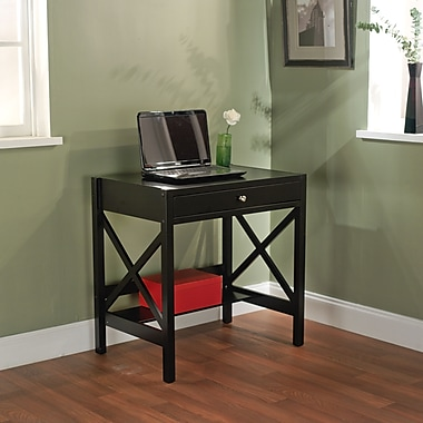 TMS Standard Writing Desk, Black (38507BLK)