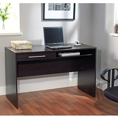 TMS Taylor Engineered Wood Writing Desk, Espresso