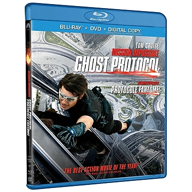 Mission Impossible: Ghost Protocol (BRD + DVD + Digital Copy)