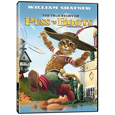 The True Story Of Puss'N Boots La VeRitable Histoire Du Chat Botte (DVD)