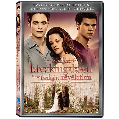 Twilight Saga: Breaking Dawn: Part 1 (DVD)