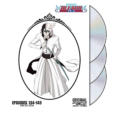 Bleach: Episodes 134-145: Volume 8 (DVD)