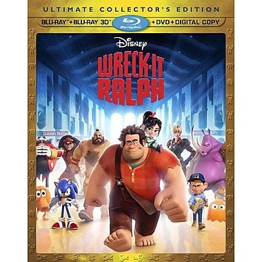 Wreck It Ralph (3D BRD + BRD + DVD + Digital Copy)